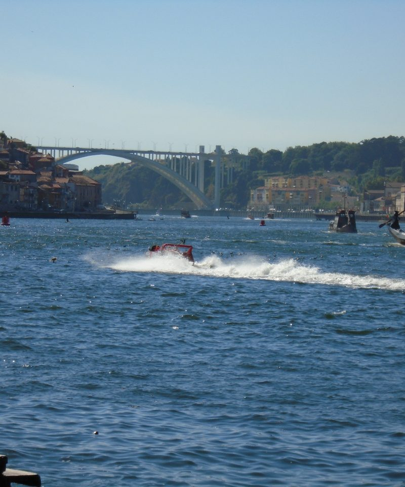 Jet boat on Douro river