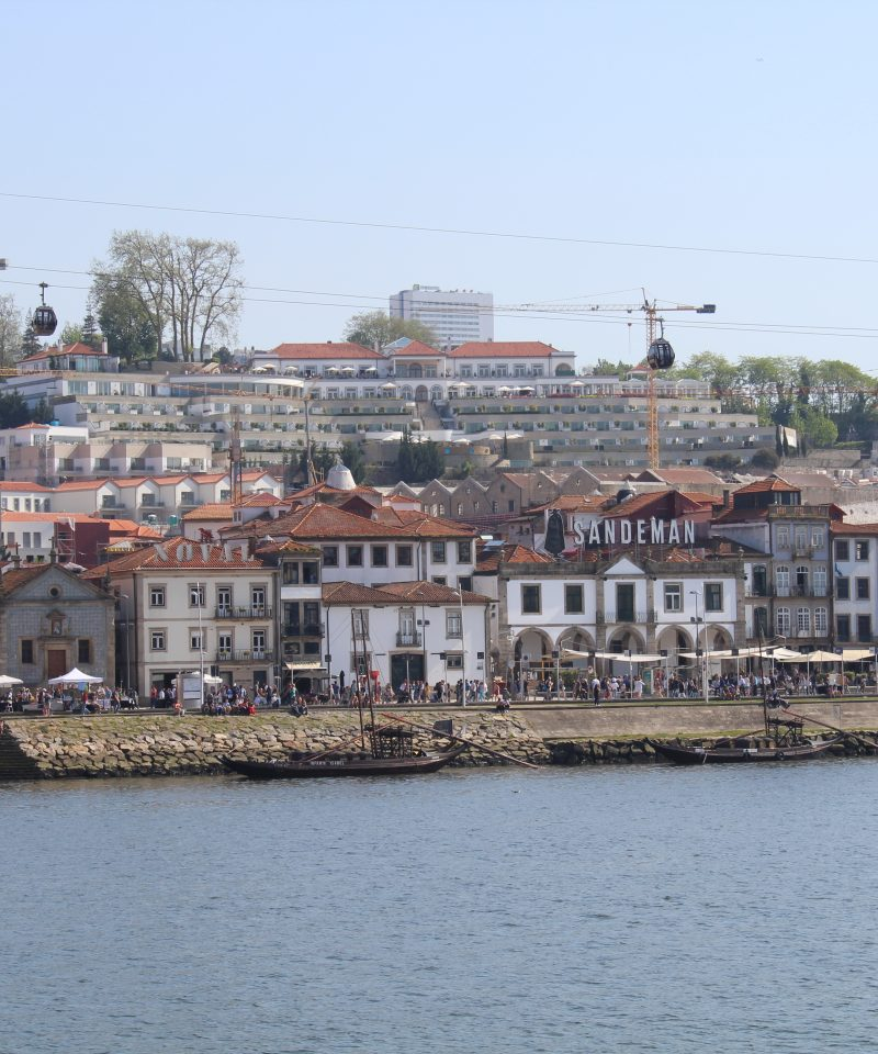 View to cais de gaia during the Walking Tour at Ribeira of Porto