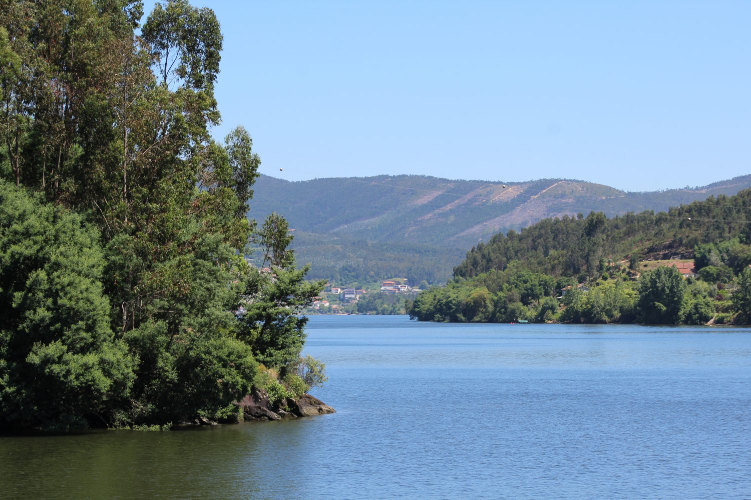 Beautiful landscape near douro river