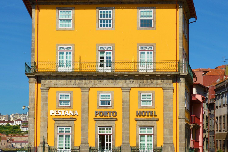 Frontage of the Hotel Pestana Porto Hotel na Ribeira