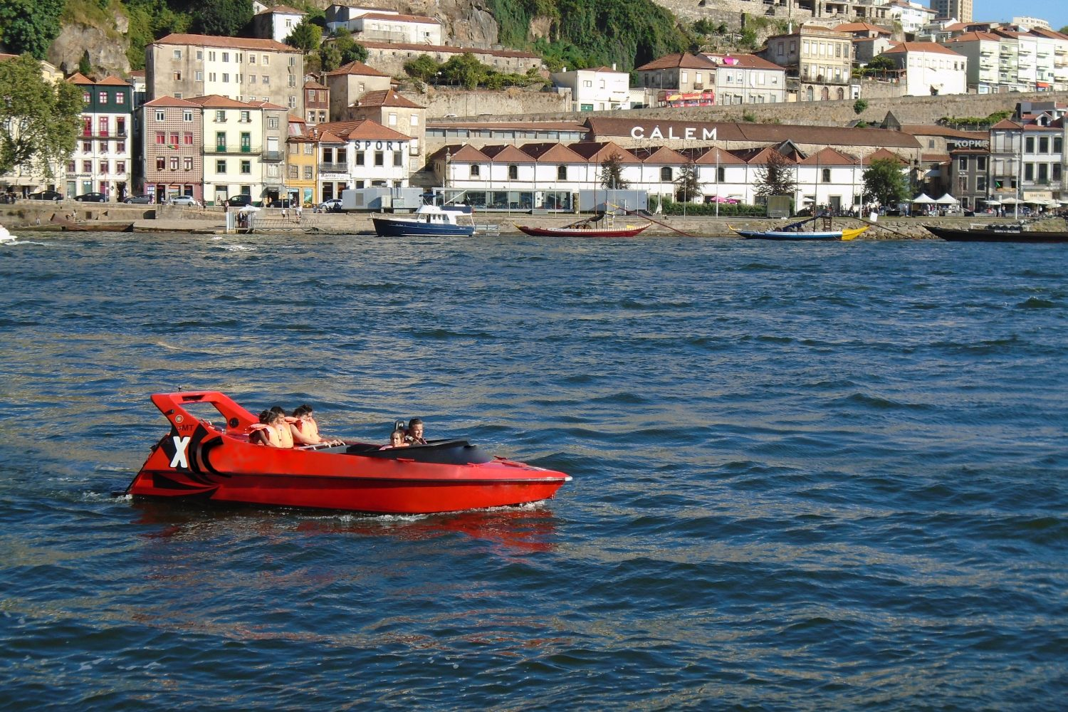 Jet boat another view at Douro River