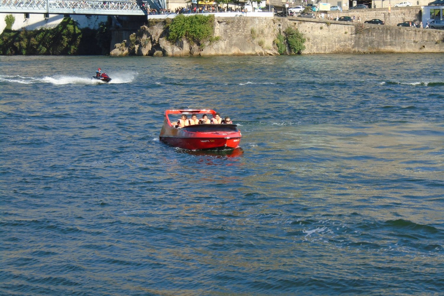 Jet boat at Douro River