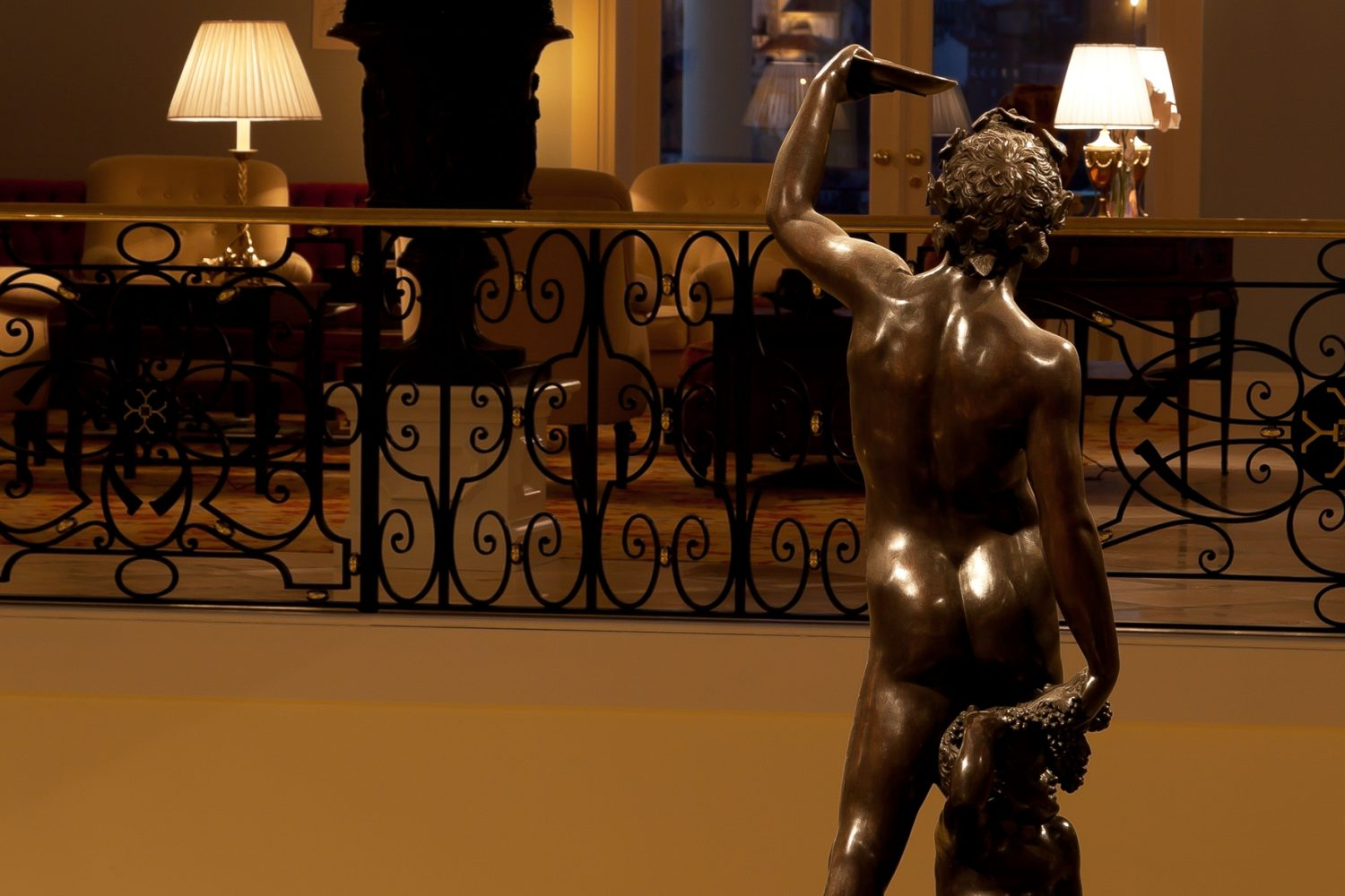 Lobby Bacchus at Yeatman Relais & Chateaux Hotel