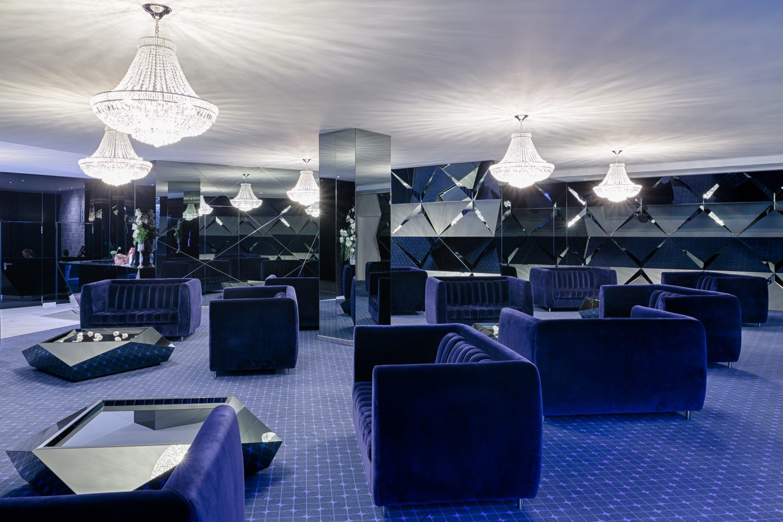 Lobby Hotel Cristal Porto