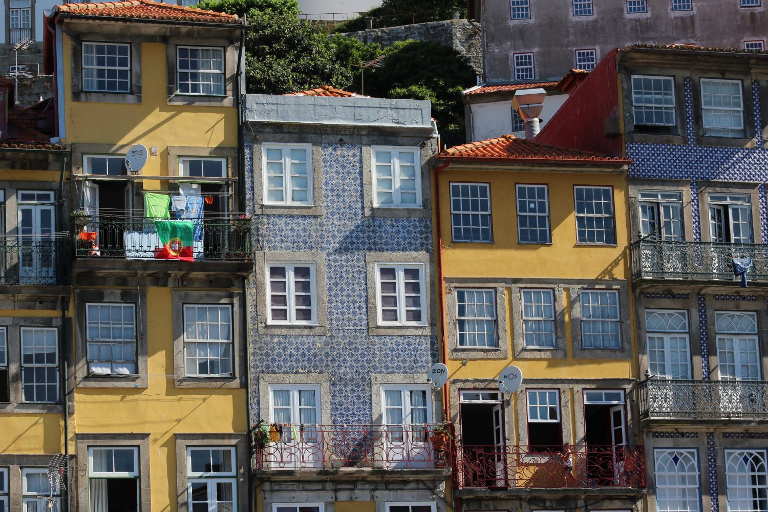 Porto colored house