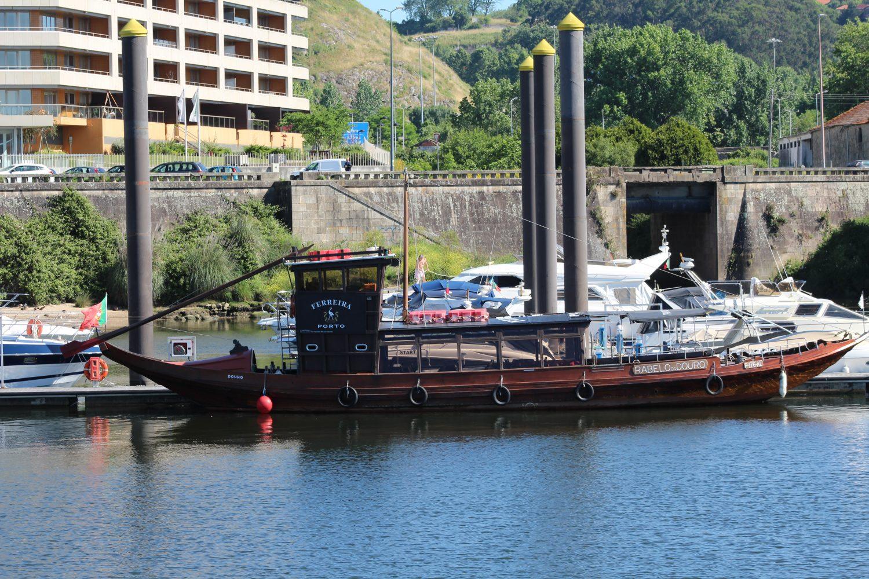 Rabelo boat at Porto