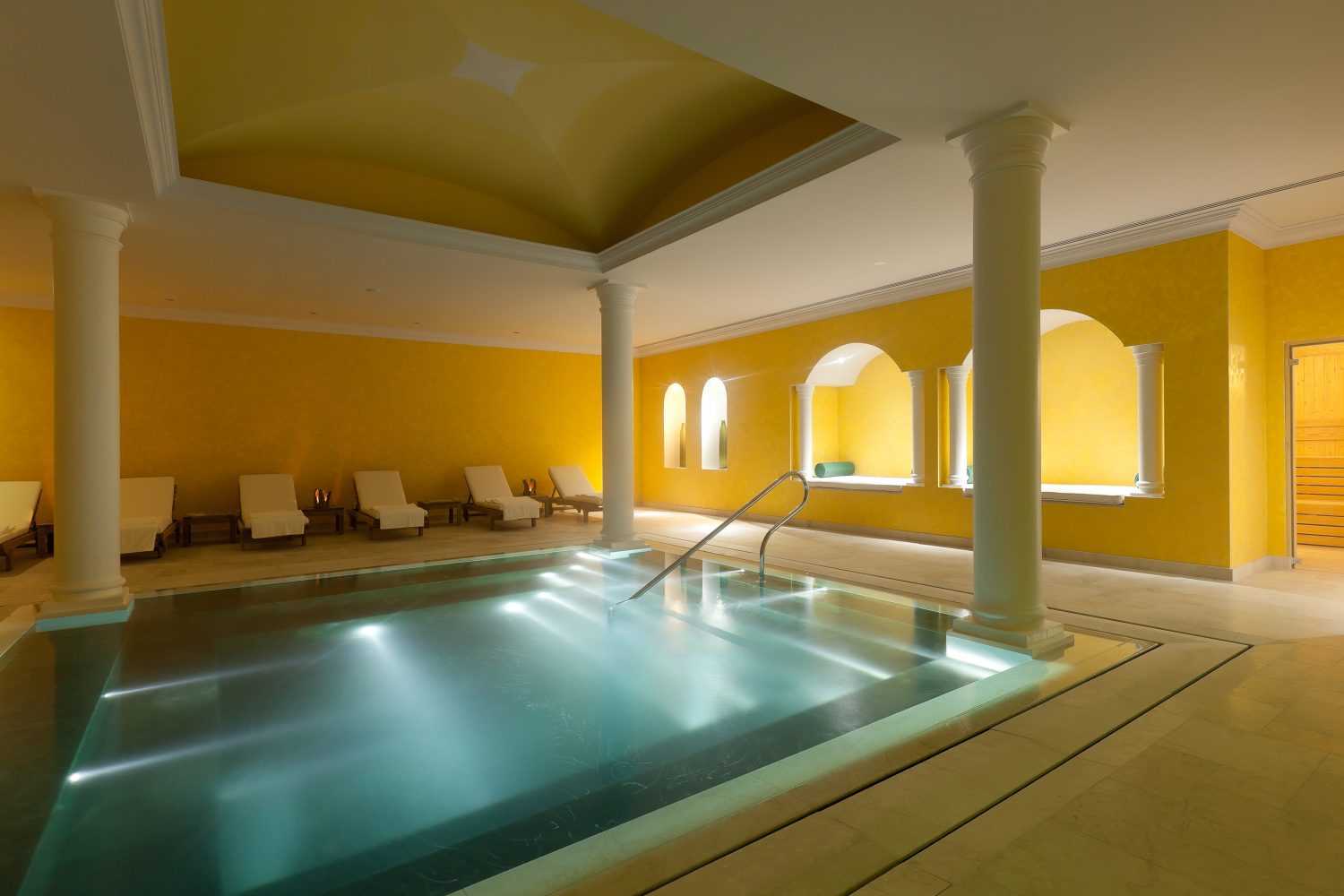 Roman Bath at Yeatman Relais & Chateaux