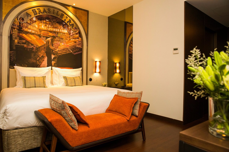 Room view of the Hotel Pestana Porto A Brasileira
