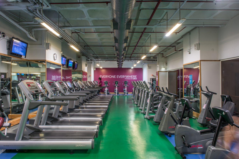 Solinca gym room at Porto Palacio Congress Hotel