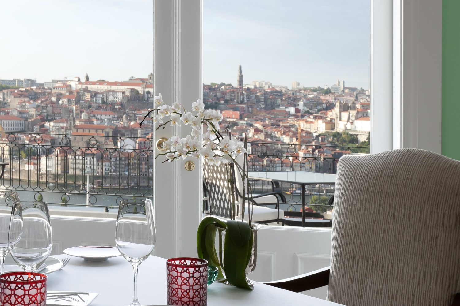 The Restaurant View at The Yeatman Relais & Chateaux