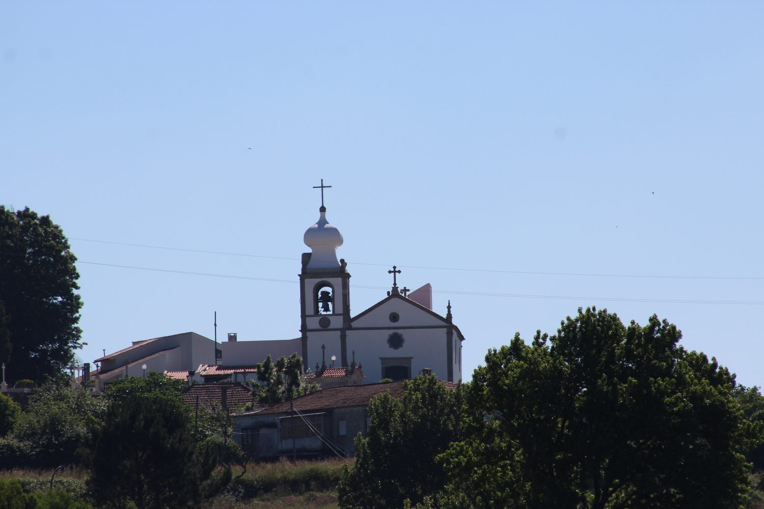 Typical portuguese church