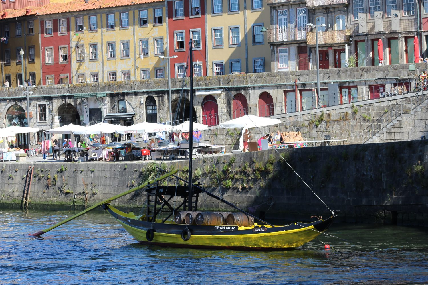 Typical rabelo boat Porto