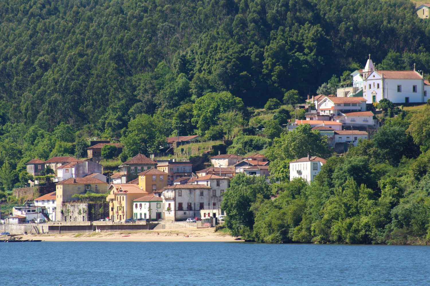 small villages over douro river