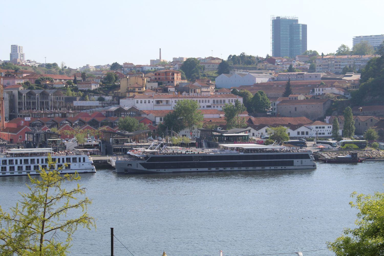 Another view to Cais de Gaia from Igreja Sao Francisco Porto during the walking tour