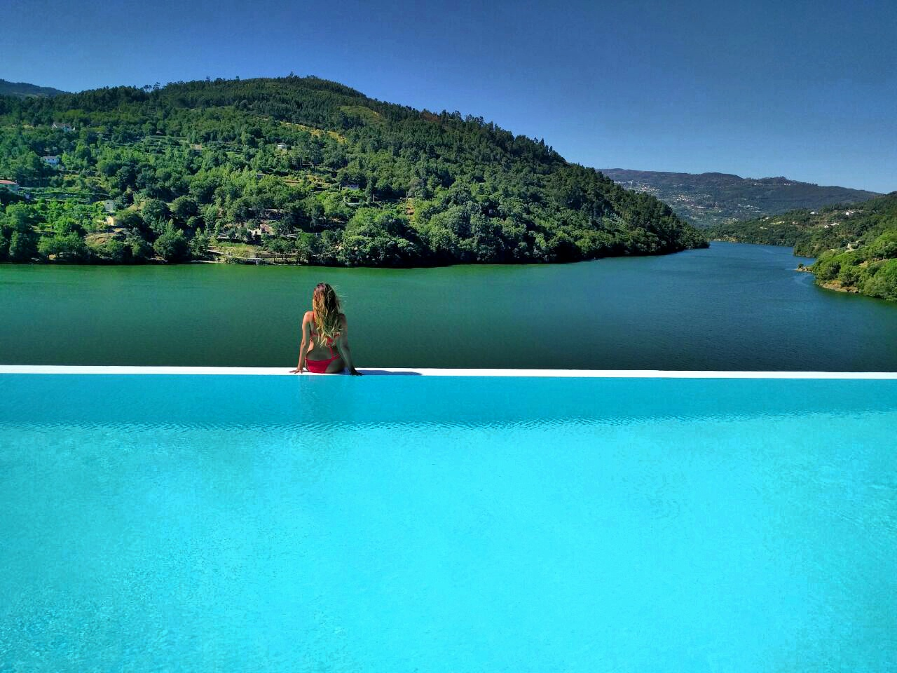 Infinity Pool at the Douro Royal Valley Hotel and Spa