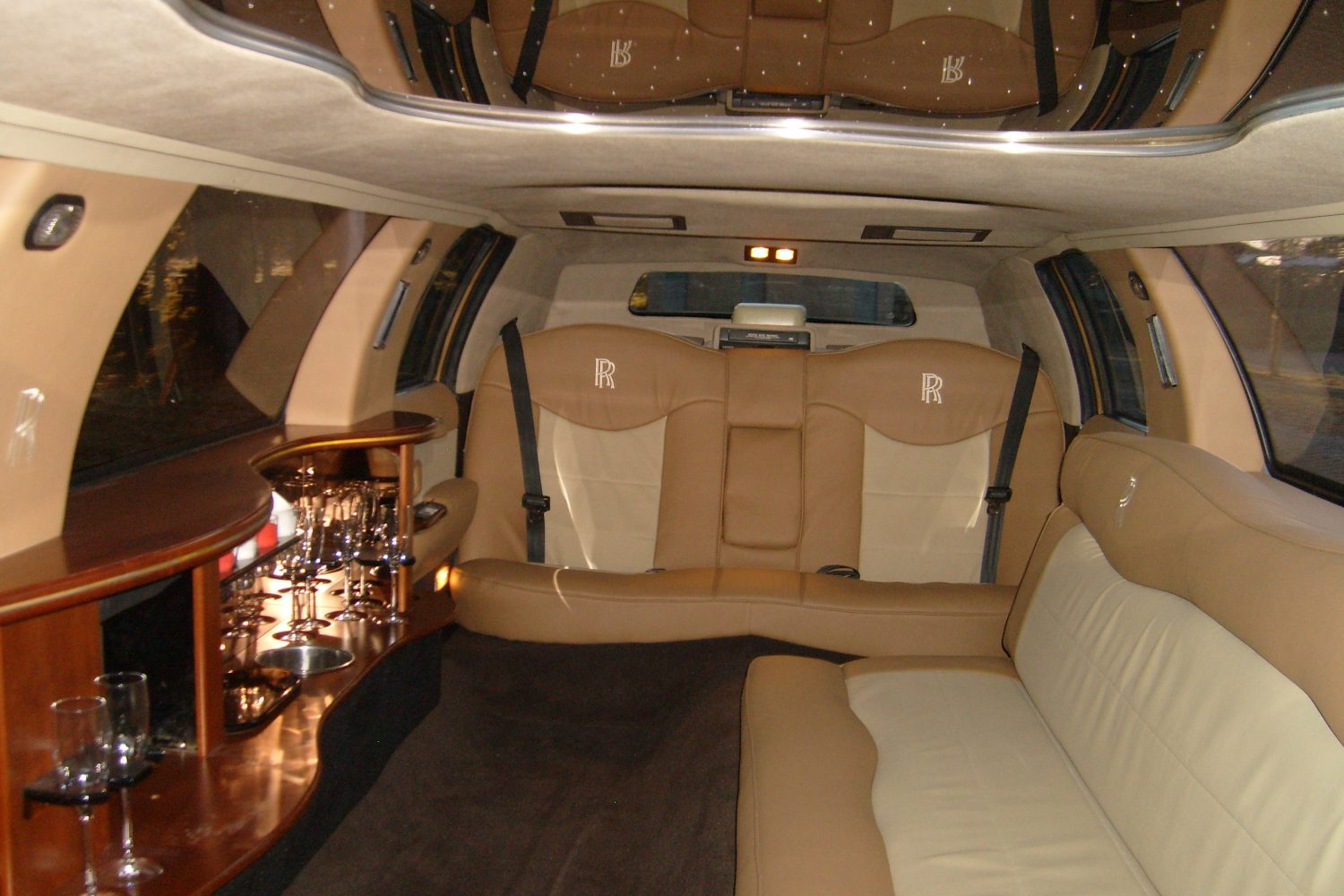 Inside At Porto Limousine