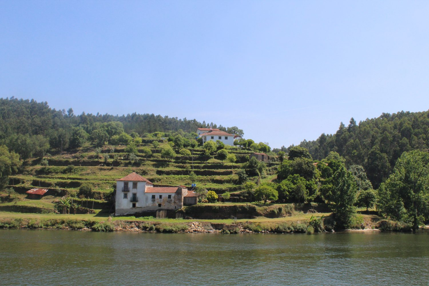 Old houses near thr river Douro