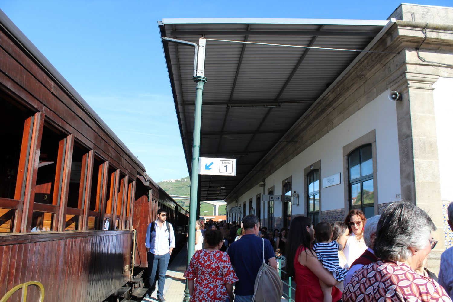 Regua Staion Train
