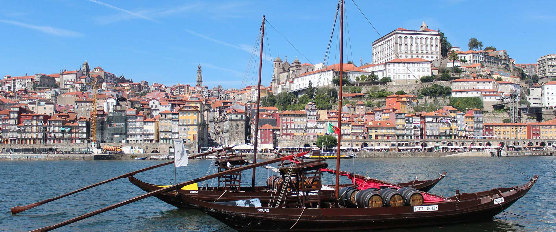Boat Rabelo Douro Cruise Porto
