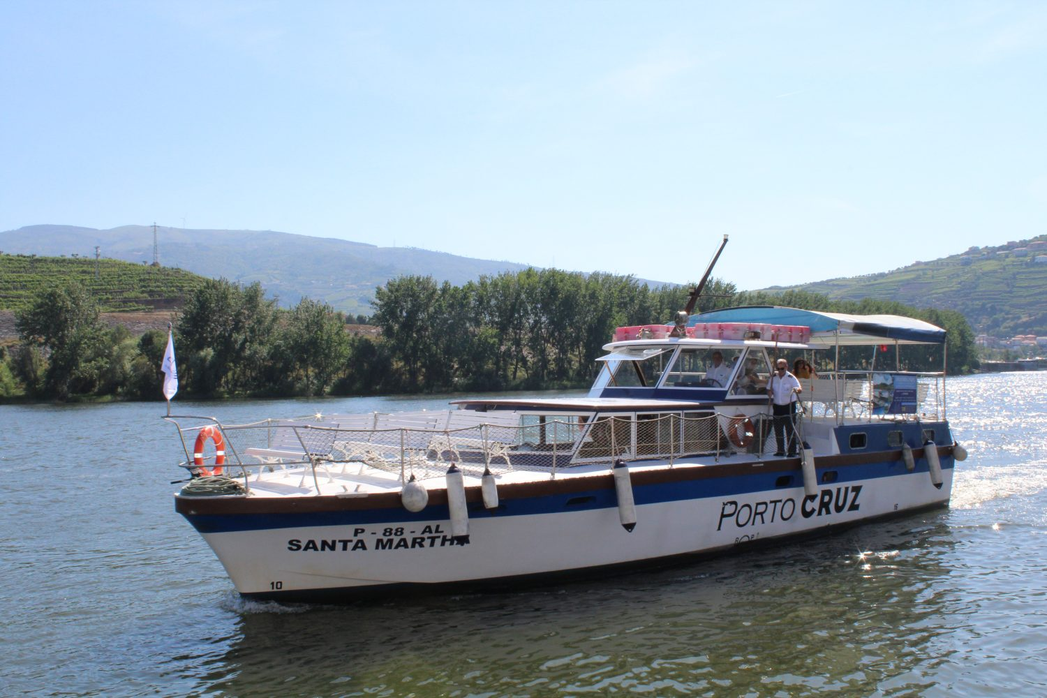 Taxi boat at Regua