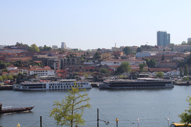 View to Cais de Gaia from Igreja Sao Francisco Porto during the walking tour